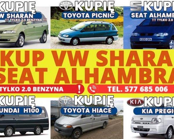 SKUP VW SHARAN KUPIĘ SHARANA SKUP ALHAMBRA 2.0 B i B/G I