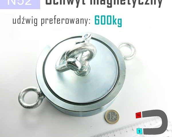Uchwyty magnetyczne - magnesy do poszukiwań